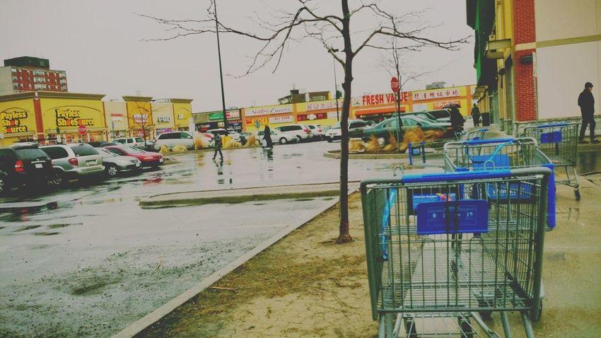 rexdale boulevard / abandoned shopping carts Rainy Days Rexdale Snapshots Etobicoke The Look Of