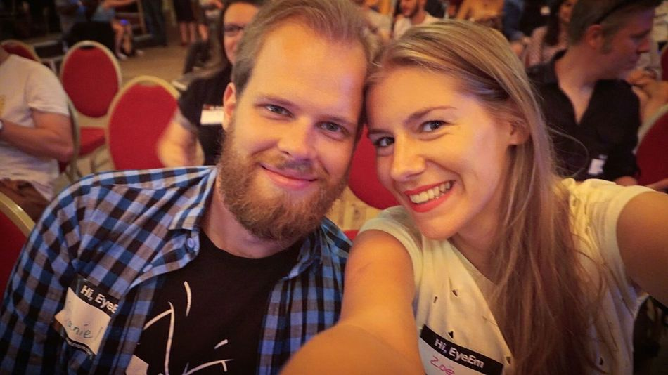 Selfie time at the EyeEm Festival 16 with