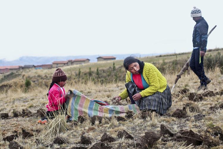 Child Worker Field Work Peru Peruvian Peruvian Culture Peruvian Kids