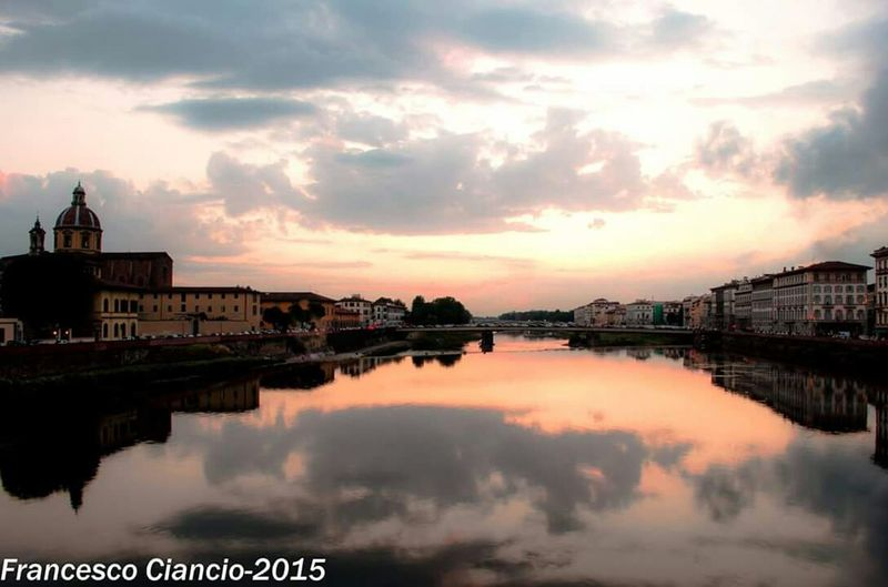 Lung'Arno - Walking Around Sunbathing Getting In Touch Jogging Excercising BBQ Swimming Escaping Florence