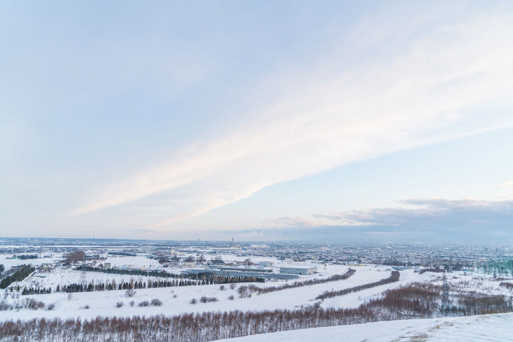 Beauty In Nature Cloud - Sky Cold Temperature Day Environment Land Landscape Nature No People Non-urban Scene Outdoors Scenics - Nature Sky Snow Tranquil Scene Tranquility Water White Color Winter