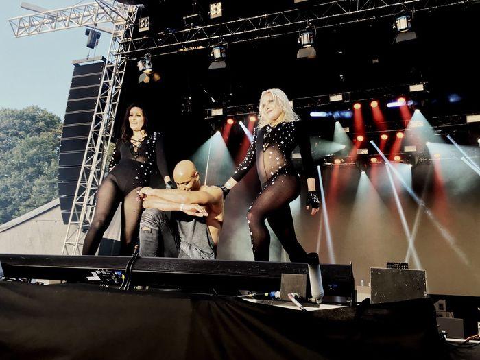Concert Brooklyn Bounce Gothenburg, Sweden Slottskogen IPhoneography IPhone SE Enlight