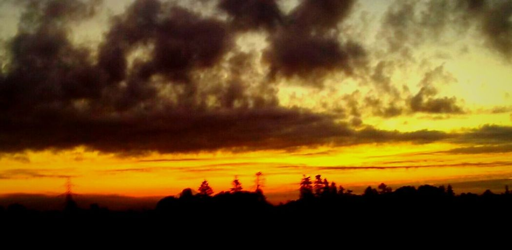 Silhouette Scenics Tranquil Scene Tranquility Sunset Beauty In Nature Landscape Orange Color Nature Dramatic Sky Cloud - Sky Storm Cloud Majestic Dark Outline Sky Multi Colored Non-urban Scene Outdoors Fragility Vibrant Color Color Enhanced Oregon Unlimited Doing What I Love To Do Isnt Nature Grand?