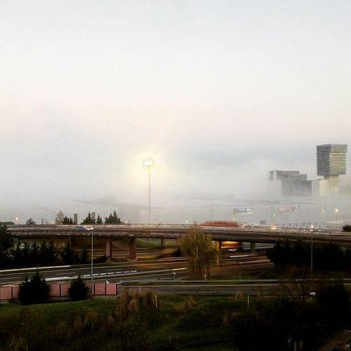 Egun on! Pues parece que hay un poquito de niebla y tal ¿no? Egunon Goodmorning Monday Astelehena Happyday