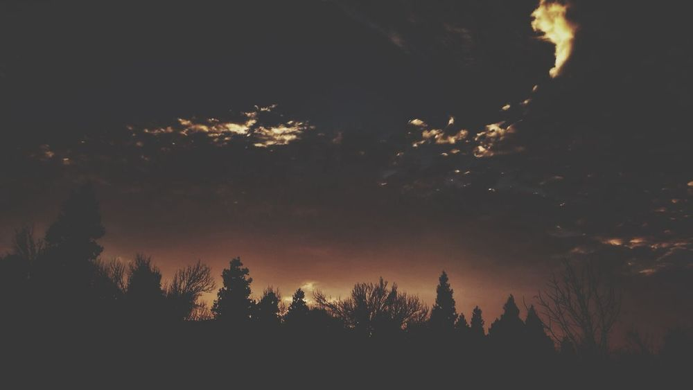 Dark... Sunset California Landscape Clouds And Sky Darkness And Light Countryside Glamour EyeEm Nature Lover Forest