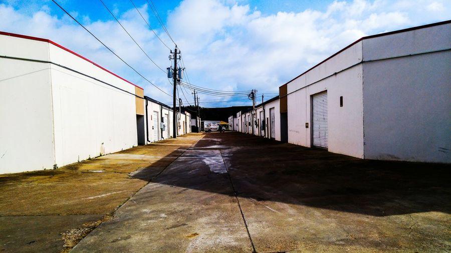 Perfect Weather Street Backalley Storagehouse Houston Houston Skies