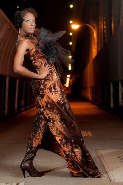 Nikond3s Fashion Model Manhattan Bridge