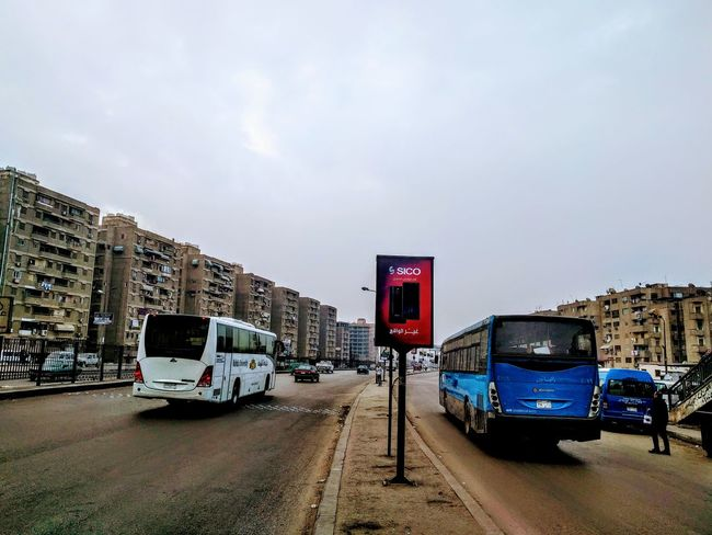 morning at Cairo Egypt Best EyeEm Shot Cairo Best EyeEm Nature Winter Life 2018 Saturday Morning Runway Maadi Bus Car EyeEmNewHere EyeEm Selects EyeEm Enjoying Life EyeEm Gallery Back To Work  Travel Destinations Mobility In Mega Cities Mode Of Transport Transportation Sky Land Vehicle Cloud - Sky Outdoors Road Day