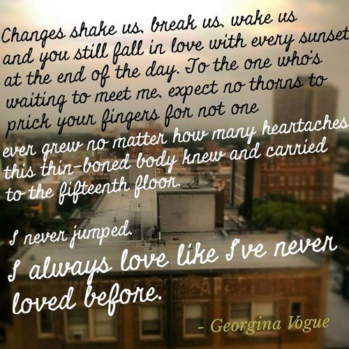 Hope you love my Poetry ))) - Georgina Vogue Eyeempoetry Poet Quotes And Poems