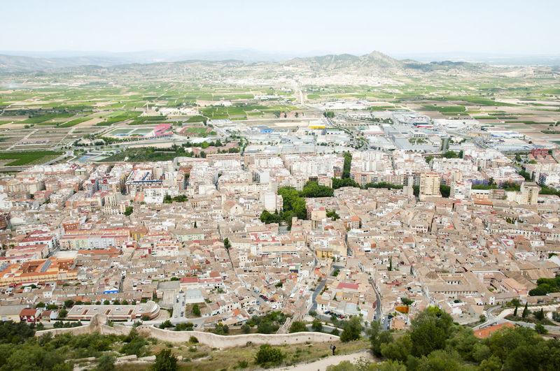 Town of Xativa City TOWNSCAPE Town House Xativa SPAIN España