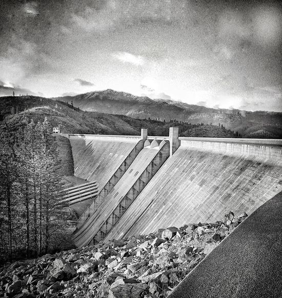"""The Dam"" Taking Photos Check This Out Lake Beauty Water Mountain Range Northern California Countryside Redding, Ca Shasta County Outdoors Mountain Scenics Landscape Beauty In Nature Shasta Dam Taking Photos Enjoying Life Nature Relaxing River The Great Outdoors - 2016 EyeEm Awards"