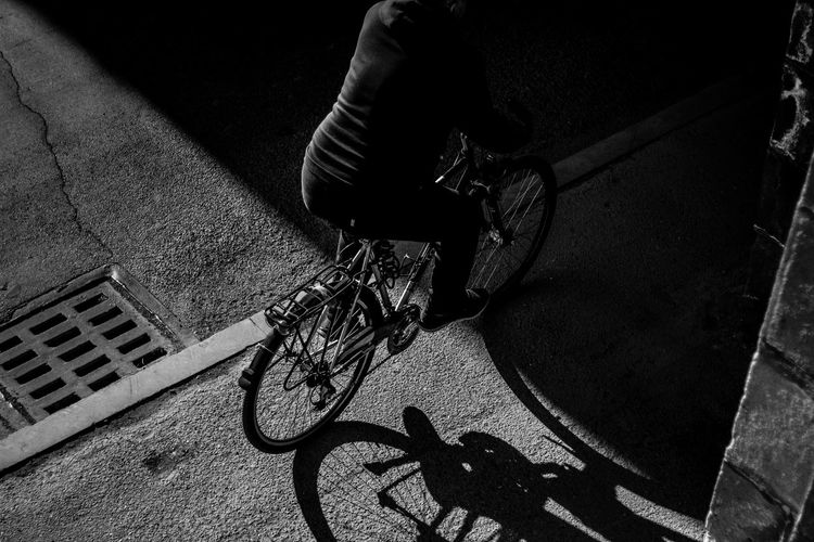 Camera - Canon 550D - Lens - 50 mm f/1.8 Blog : https://www.instagram.com/david_sarkisov_photography/ Bicycle Transportation Street City Land Vehicle Mode Of Transportation High Angle View Real People Shadow Low Section Day One Person Sunlight Human Body Part Lifestyles Basket Road Body Part Men Outdoors Wheel Riding Blackandwhite Black And White Streetphotography My Best Photo Streetwise Photography