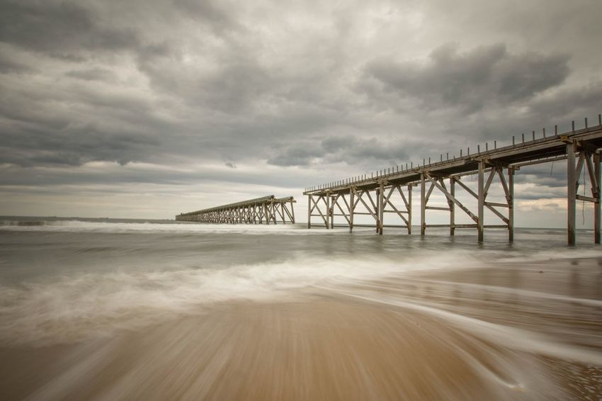 NiSi Filters Nisi Nikond7200 Amazing Beach Photography Nikon Sigma 10-20mm Steetly Sea And Sky Seascape Beachphotography Beach Long Exposure Nikonphotography Nikonphotographer Clouds And Sky Backwash Seascape Photography Pier Longexposure Thecoast