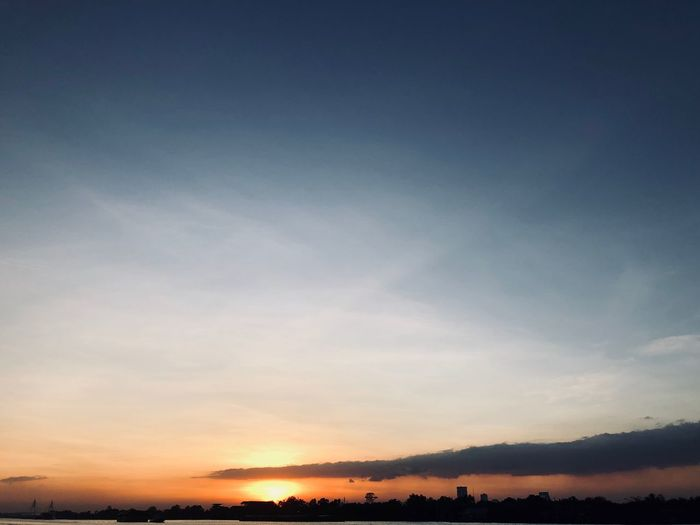Sky Beauty In Nature Tranquil Scene Scenics - Nature Tranquility Sunset Cloud - Sky