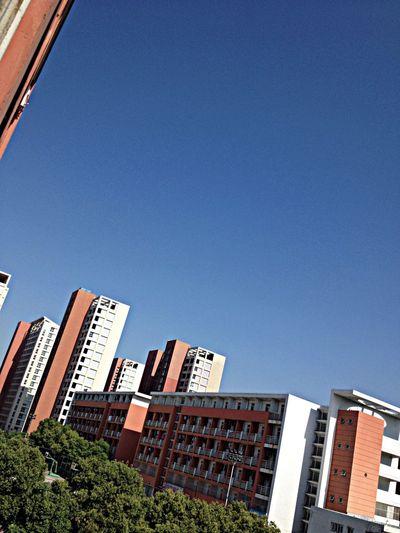 blue blue sky~