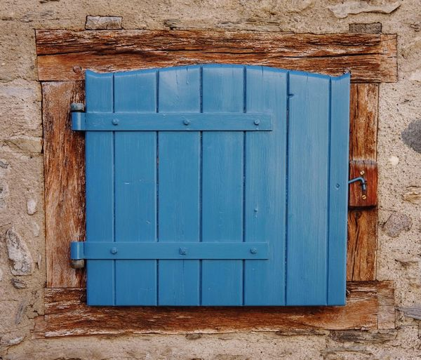 Closed Door Architecture Closed Blue Built Structure Rustic No People Outdoors Day Exceptional Photographs Eye4photography  EyeEm Best Shots Best EyeEm Shot Pyrenees Building Exterior Architecture