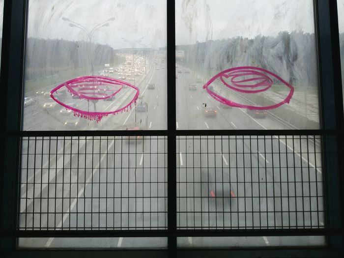 Be. Ready. Window Graffiti Road It's About The Journey