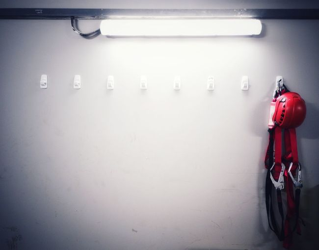 Last Man Standing Single EyeEm Selects Harness Safety Safety First! PPE Red