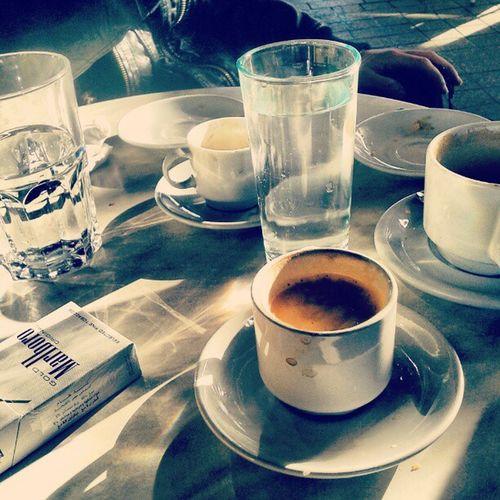 Et ca commence toujours avec café cc @el_kazii Instameet Korbus