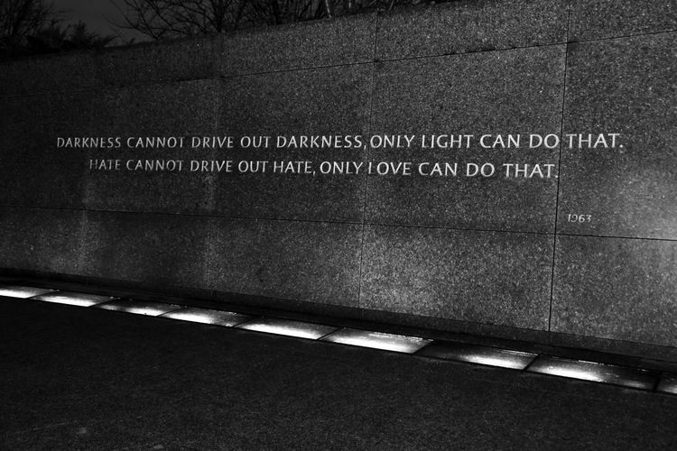 #blackandwhite #civilrights #Dark #light #love #MLK #mlkjrmemorial #monochrome #monuments #nationalmall
