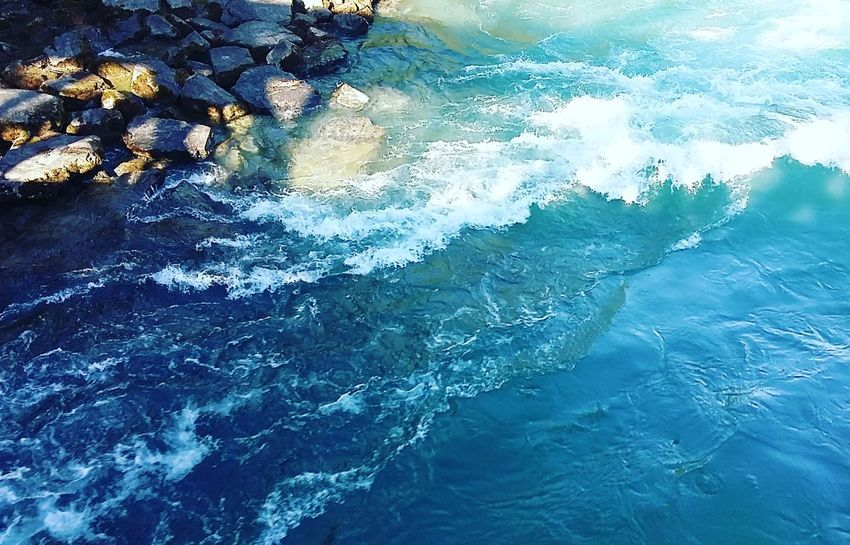 Waves Water Abstract Blue Outdoors Nature Adventure Is Out There Adventure Bluelover