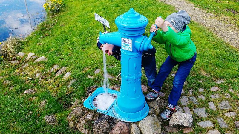 Thirst Thirsty  Durst Kids Boys Kinder Children Wasserpumpe Waterpump