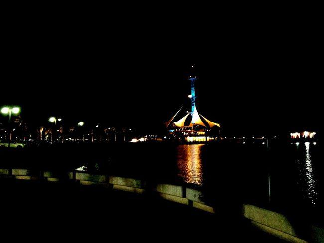 Arabian gulf, Kuwait Night Illuminated City Architecture Building Exterior Outdoors Travel Destinations