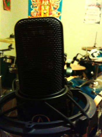 Indoors  Music Is My Life Musical Instruments Musican Music Drums Microphone Microphone Check