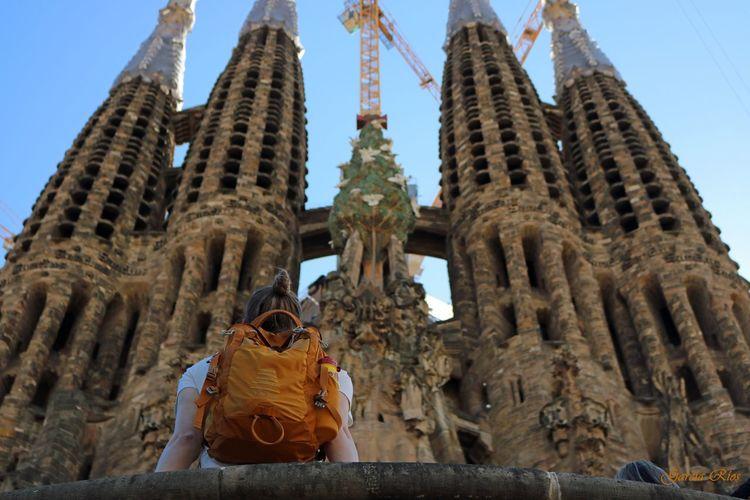 Manu Manu García Spain♥ SPAIN Barcelona Barcelona, Spain Sagrada Familia Gaudi Europe Canonphotography Canon_photos Canon Canon_official Canon750D Viajar Travel Travel Photography