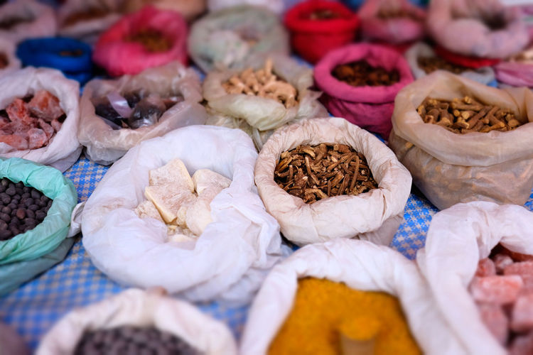 Spice market Variation Food And Drink Choice Large Group Of Objects Food Abundance No People Freshness Market Retail  Still Life Wellbeing For Sale Arrangement Market Stall Order Close-up Full Frame Selective Focus In A Row Retail Display Chinese Herbal Medicine