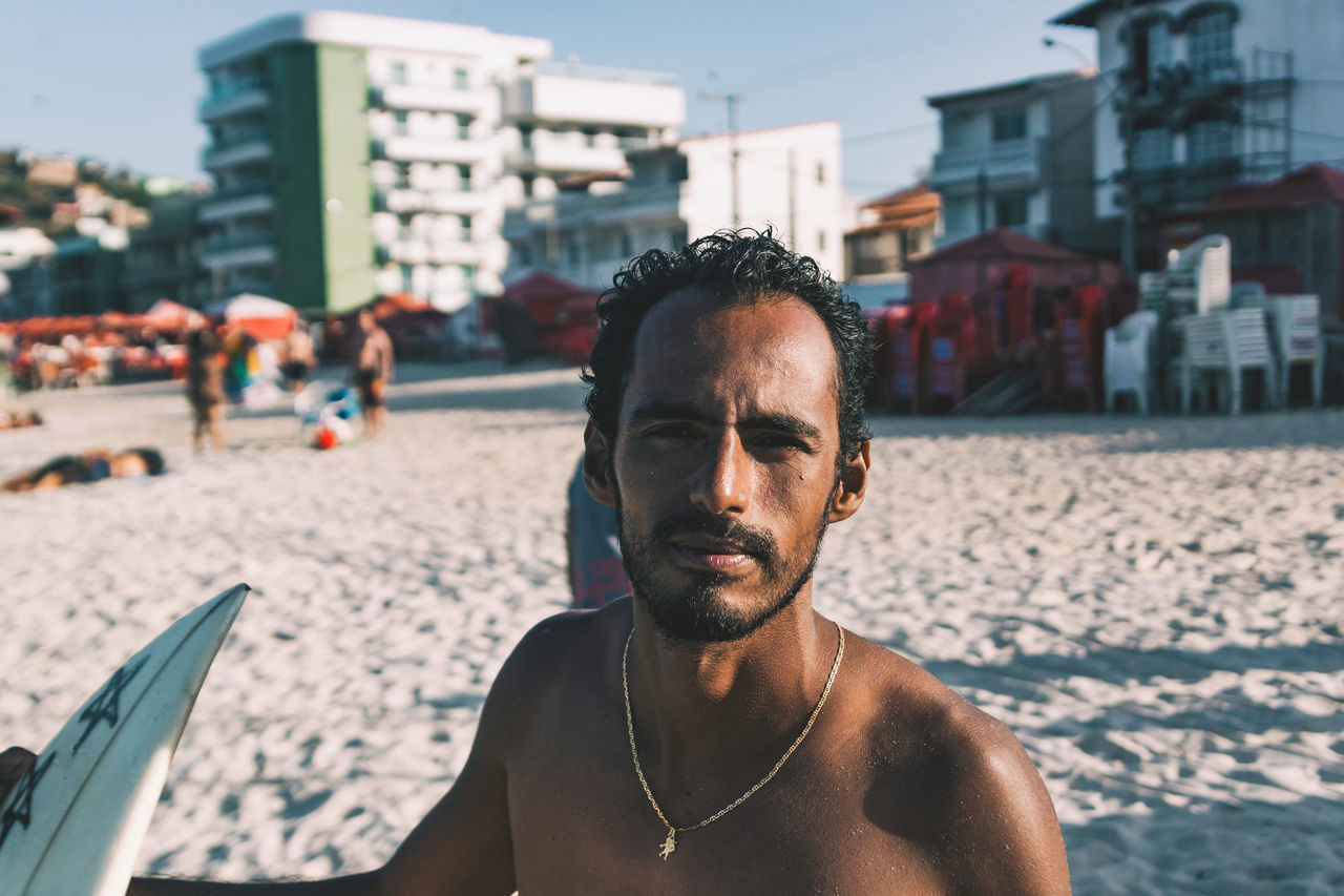 30-34 Years,  Architecture,  Arraial Do Cabo,  Beach,  Beard