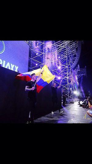 Colombia flag blastetjaxx summerland 2015 edm dj duo brothers holand