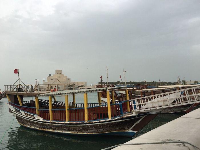 Qatar Islamic Museum Islamicmuseum Nautical Vessel Water Transportation Sky Mode Of Transportation Built Structure Architecture