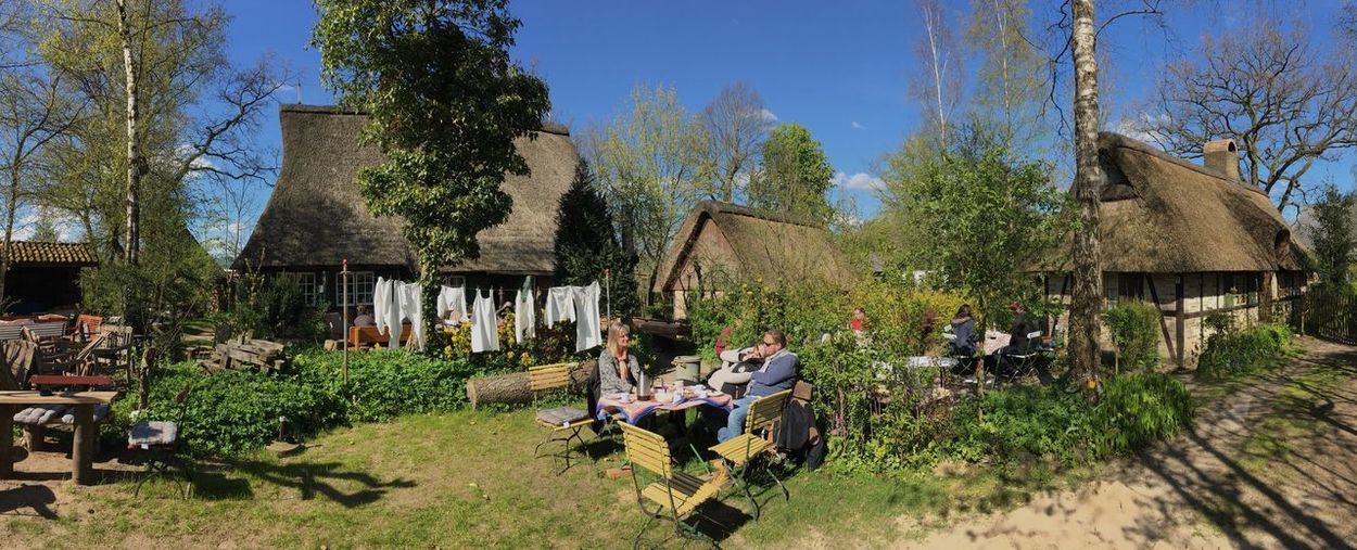 Day Built Structure Architecture Outdoors People Naturpark Aukrug Dat Ole Hus Café Museum Tourist Attraction