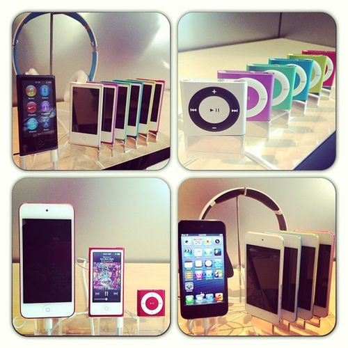 Apple Applestore Ipod IPhone iPodtouch nano ipodnano shuffle iPodshuffle color colorful red white purple green blue yellow pink technology hightech instamood Sydney Broadway mac instaipod