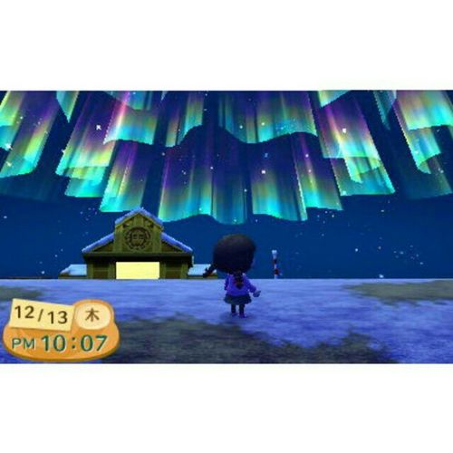 オーロラ aurora Game Nintendo 3DS どうぶつの森 Animalcrossing
