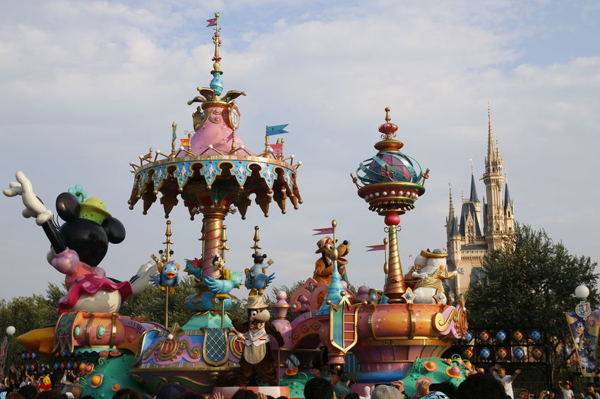 東京ディズニーランド (tokyo Disneyland) 東京ディズニーランド 東京ディズニーランドホテル Disneyland Disneyland Tokyo Disneyland Tokyo Resort Disneyland<3 Disneyland Castle Tokyo Disney Land Disneytokyo Japan Disney Parade Celebration Traditional Festival Amusement Park