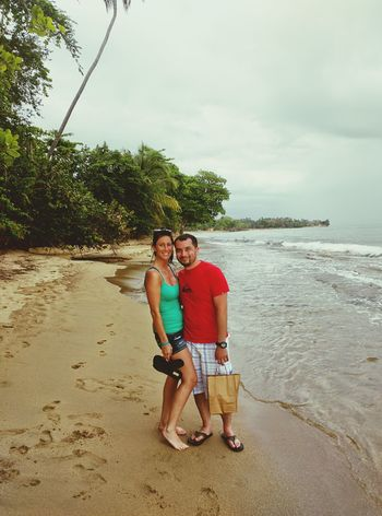 Last day with my love! Fun Beach Sand Ocean View Rincon Puerto Rico Vacation