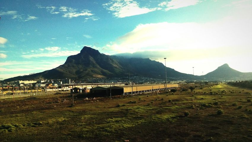 Cape Town Table Mountain Train Station Depo