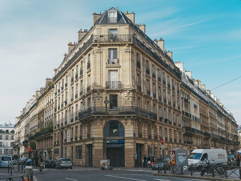 Architecture Sky Street Architecture Streetphotography Paris Olympus The Collection Built Structure The Week On EyeEem Lines And Shapes History Travel Destinations Outdoors Building Exterior