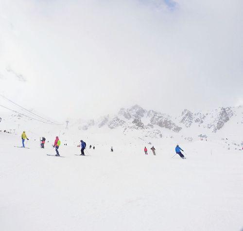 Miles Away Snow Ski Holiday Mountain Skiing Skiing In Courchevel Courchevel