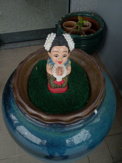 Doll represent Thai Culture. Craft Day Doll Hand Made Helllo Hi Human Representation Indoors  No People One Person One Person Only Represent Representative Sawasdee Smile Thai Thai Culture Thailand
