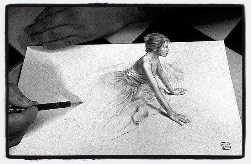 3D Drawing Amazing effect