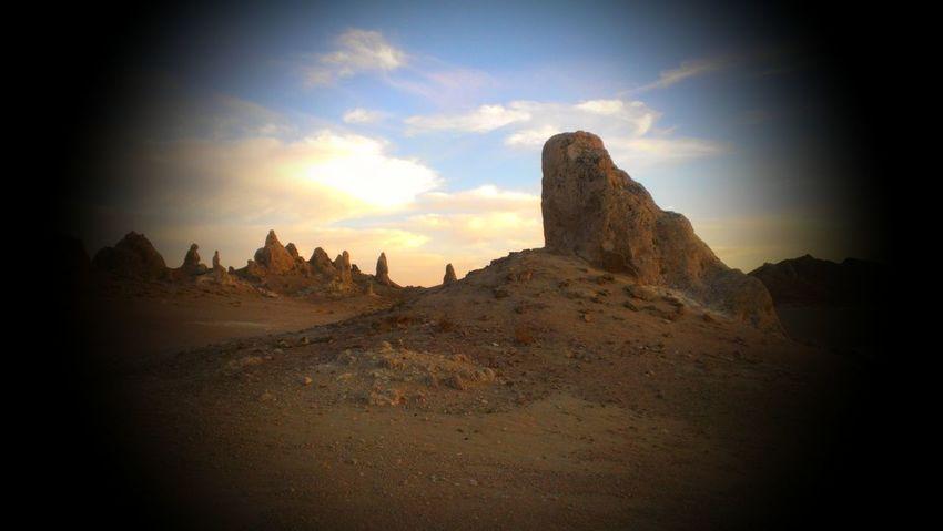 Deserts Around The World Desert Landscape Desert California Trona Pinnacles Lonely Landscape