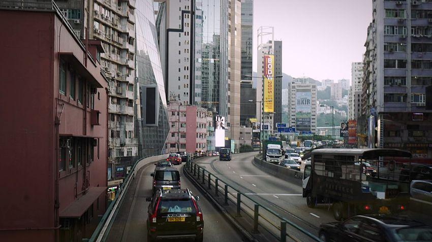 traffic HongKong Discoverhongkong Leica Leicaq Streetphotography Causewaybay  Street Ride Bus Doubledecker 香港