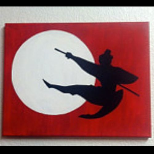 Yayyy~ finally figured out what I'm going to work on for my next stencil project Stenciling Amateurartist Fun Bobby Mulan