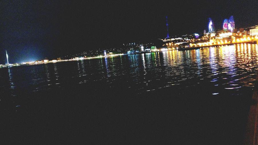 Photo by me 😜 Baku Baku Azerbaijan Flowntower Light