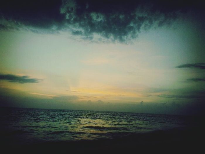 Its..sun setting time...