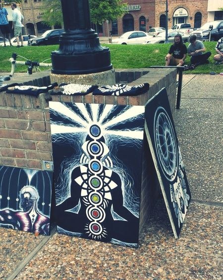 Street Art Canvas Paintings Tyler TX The Town Square Art Festival