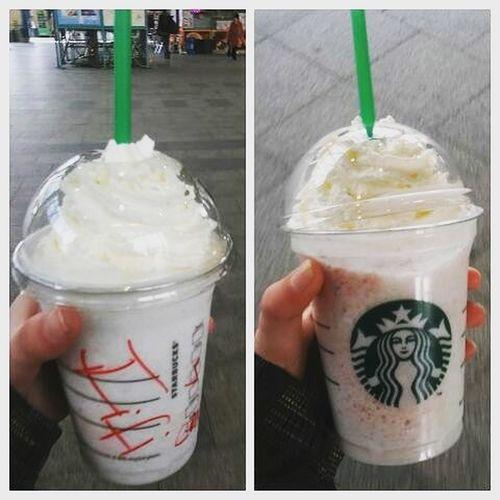 Starbucks StrawberryShake Yum Love